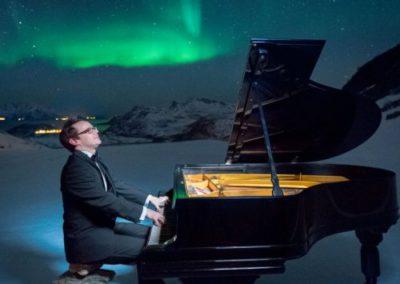 Ein Klavier in Cap Nord zu bringen !