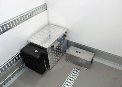 Chauffage webasto dans remorque isolée 100 mm