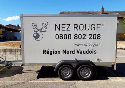 Remorque Nez Rouge